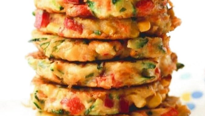 Rainbow Fritters